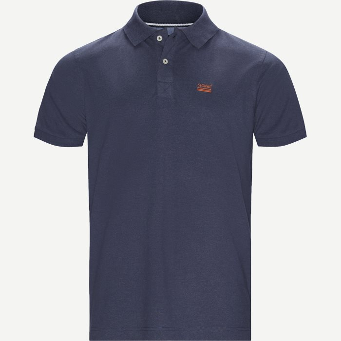 Nors KM Polo t-shirt - T-shirts - Regular - Denim